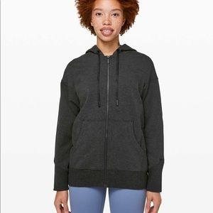 Lululemon ready to stroll hoodie black zip up